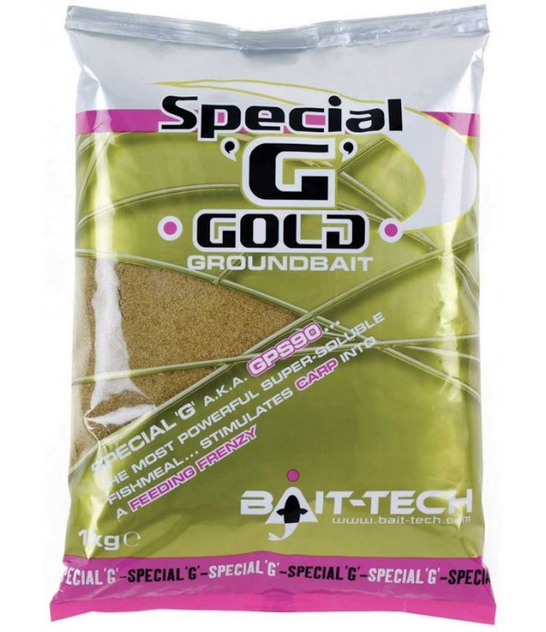 BAIT TECH SIPKA HRANA SPECIAL 'G' GOLD 1KG
