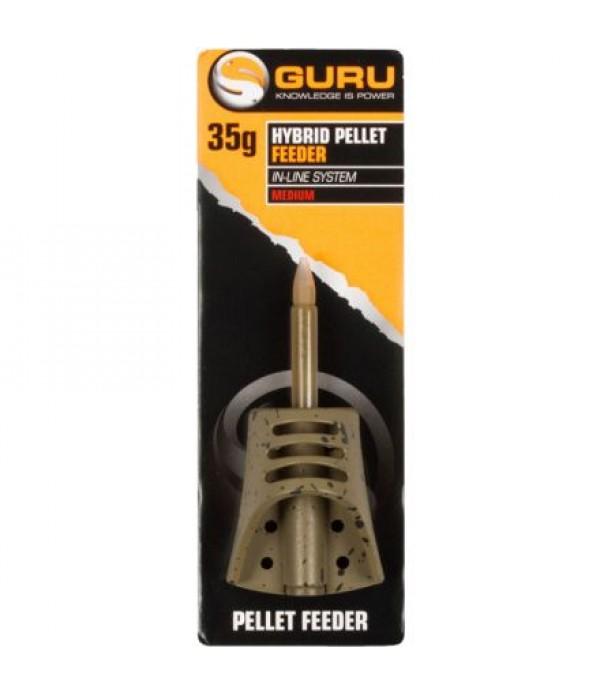 GURU HYBRID PELLET FEEDER INLINE SMALL 30GR