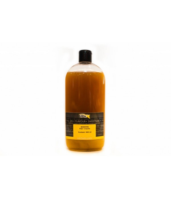 MTC BAITS  PRELIV - FISH 'N GARLIC 500ML