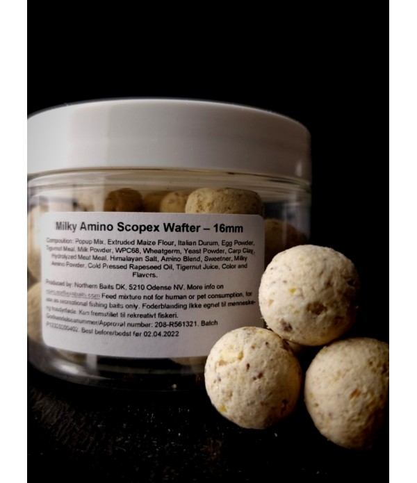 NORTHERN BAITS WAFTERS MILKY AMINO SCOPEX