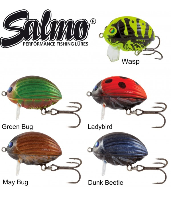 VABA SALMO LIL BUG FLOATING 2CM 2,8GR