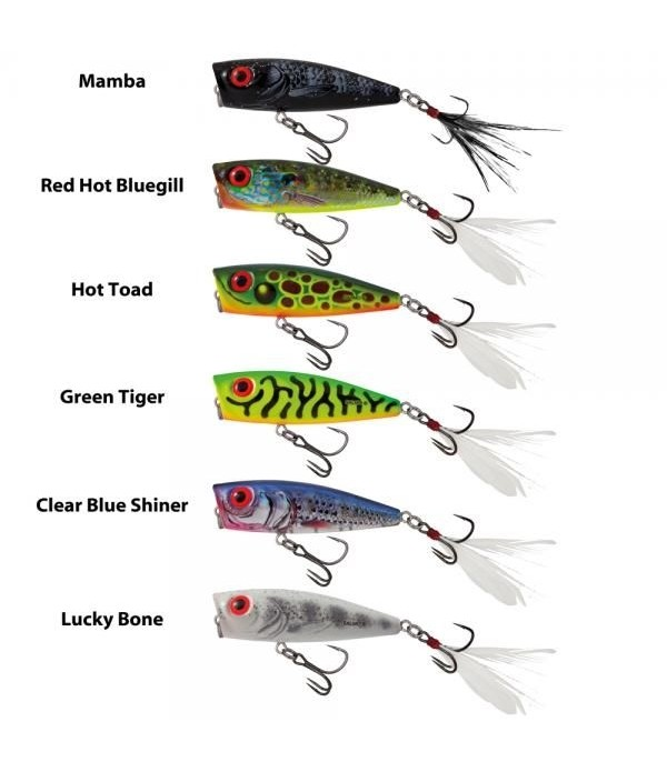 SALMO VABA RATTLIN' POP FLOATING - 7CM
