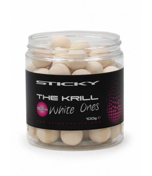 STICKY BAITS KRILL WHITE ONES POP UPS 100GR