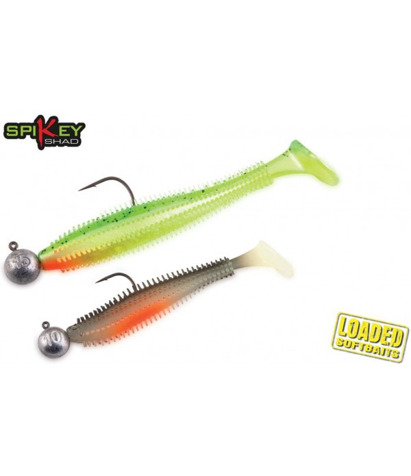 FOX RAGE SILIKONSKA VABA LOADED SPIKEY SHAD 12CM 15GR