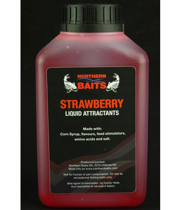 NORTHERN BAITS PRELIV STRAWBERRY 500ML