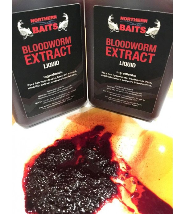 NORTHERN BAITS PRELIV BLOODWORM EXTRACT 500ML