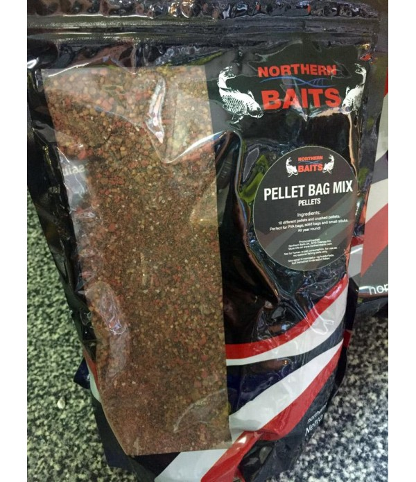 NORTHERN BAITS PELLETI BAG MIX 1KG