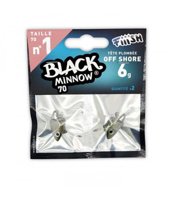 FIIISH BLACK MINNOW JIG GLAVE 70 6GR