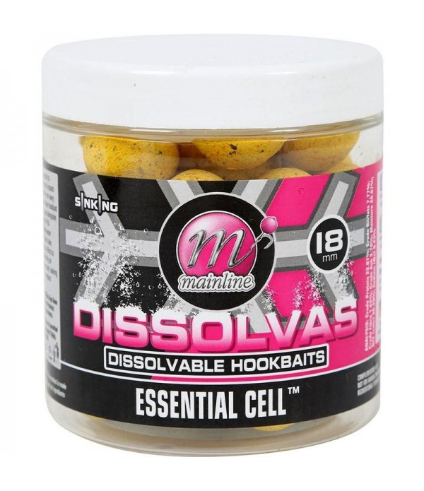 MAINLINE DISSOLVAS HOOKBAITS ESSENTIAL CELL 18MM