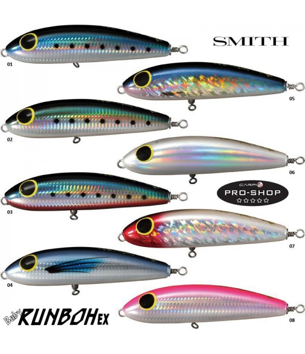 SMITH VABA BABY RUNBOH EX 145MM 78GR SINKING
