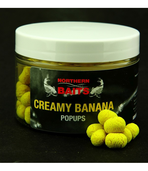 NORTHERN BAITS VABA CREAMY BANANA POP UP DUMBELLS ...