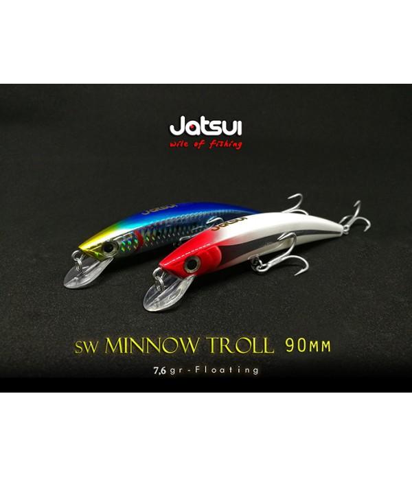 JATSUI VABA SW MINNOW TROLL 90MM 7,6GR