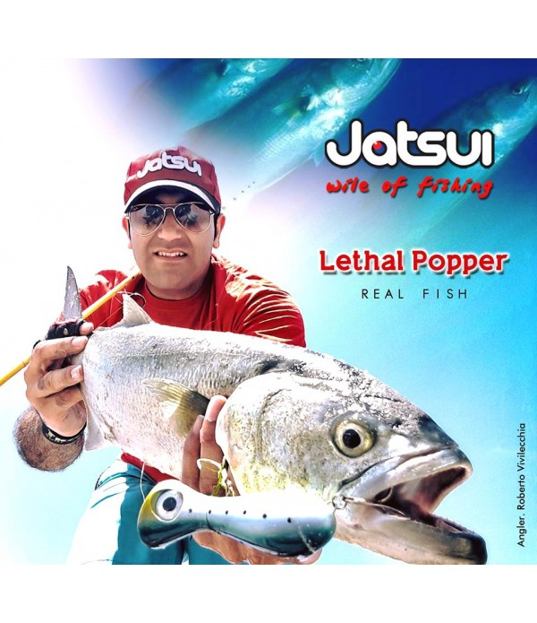 JATSUI VABA SW LETHAL POPPER 100MM 30GR POVRŠINC